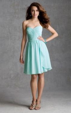 taffeta bridesmaid dress from Angelina Faccenda Bridesmaids by Mori Lee Dress Style 204250 Luxe Chiffon @ bridal traditins Mori Lee Bridesmaid Dresses, Taffeta Bridesmaid Dress, Mint Green Bridesmaid Dresses, Knee Length Bridesmaid Dresses, Prom Dresses Blue, Prom Party Dresses, Homecoming Dresses, Bridal Dresses, Strapless Dress Formal