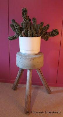 Planter Pots, Stool, Furniture, Home Decor, Homemade Home Decor, Stools, Home Furnishings, Chair, Interior Design