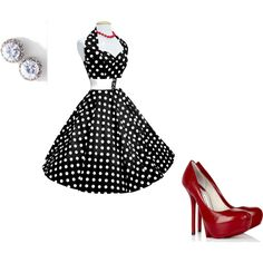 50's Chic, wish I could dress like this once in awhile!