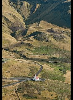 the church in Vik, southern Iceland