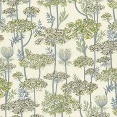 It may be time for kitchen curtains and this Liberty of London fabric is in the running.