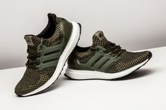 bce984c3b34 Keep an olive green sneaker in rotation at all times. Enter the adidas  Ultra Boost