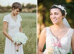 Inspiration cheveux très courts   Look Mariage   Queen For A Day - Blog mariage