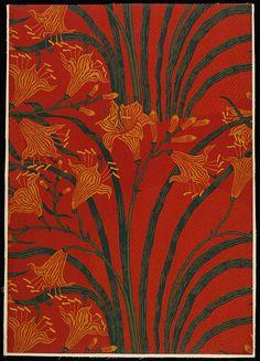Walter Crane -- Day Lily