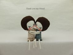 Thank you my friend by evangelione, via Flickr