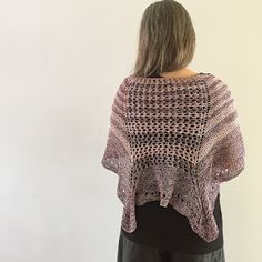 Ravelry: Creatività Pura pattern by Emma Fassio Knitted Shawls, All The Colors, Ravelry, Crochet Top, Texture, Knitting, Pattern, Sweaters, Inspiration