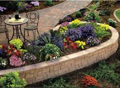 Red Brick Flower Beds I Ve Got Most Of Them Made Already 400 x 300