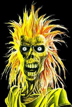 Ugly Music, Eddie, Edward The Great, Iron Maiden Hard Rock, Heavy Metal, Crane, Iron Maiden Albums, Iron Maiden Posters, Eddie The Head, Old School Skateboards, Beautiful Dark Art, Apple Logo Wallpaper