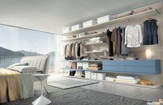Cabina armadio Joyce per soffitti bassi - ARREDACLICK