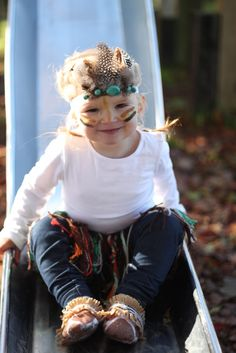 A Young Wife's Tale: DIY Little Indian Costume