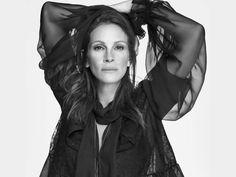 Julia Roberts en la campaña de Givenchy primavera-verano 2015