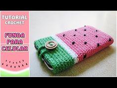 En este video aprenderemos a tejer una funda o estuche para el movil o la tablet, muy rápido y sencillo. Tutorial a crochet paso a paso. SUSCRÍBETE: https://...