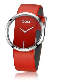 Break with the usual and set a fashion trend with this minimalistic beautiful and stylish borderless women's watch. Time for fashion, time for a luxury borderless women´s watch, one of a kind. Choose