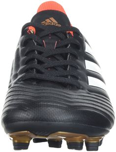 official photos e4728 864a5 adidas Originals UnisexKids Ace 18.4 FxG Soccer Shoe Core BlackWhiteSolar  Red 6.5