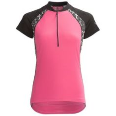 Canari Lazise Print Cycling Jersey - Short Sleeve (For Women) be203b685
