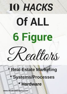 10 Musts That ALL SUCCESSFUL REAL ESTATE AGENTS HAVE IN COMMON. #Real Estate Marketing #Real Estate Marketing Ideas #Realtor Marketing #Realtor #real estate agent #real estate #marketing #sales motivation #sales tips #real estate tools