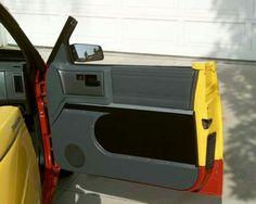 S10 door panel on a convertible top & Black and green s10 interior and door panel | 1st Gen s10 | Pinterest