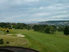 Vue sur le golf(e) - Juillet 2014