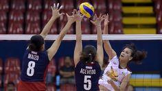 Petron Blaze Spikers secure third spot with win over Cagayan - Solar Sports Desk Third, Solar, Basketball Court, Desk, Sports, Hs Sports, Desktop, Table Desk, Office Desk