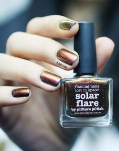 Solar Flare Picture Polish by Pshiiit