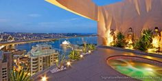 Sydney penthouse overlooking the harbour, Opera House and bridge.