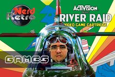 RIVER RAID - ATARI GAMEPLAY PTBR  - NERD RETRÔ GAMES