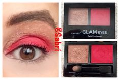 Totally #inlove with #santeecosmetics #glameyes #twinshadow08. Super pigmented and wearable! #redeyeshadow! And @shopmissa for $1, #SWEET!!! #Beauty #Belleza #Bellezza #Beauté #Beleza #Cosmetics #Cosméticos #Cosmetici #produits de beauté #Makeup #Maquillaje #maquillage #maquiagem #fabat40.