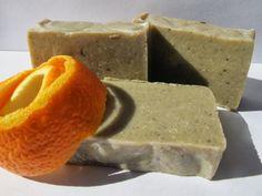 Sabó de pàtxuli i taronja, jabón de pachuli y naranja, orange and patchouli soap