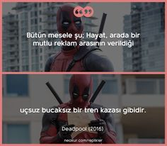 Teenager Post 1, Teenager Quotes, Deadpool, Every Teenagers, Personality Quotes, Weird Dreams, Movie Lines, Film Quotes, Bts