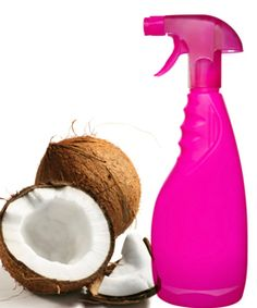 Homemade coconut spray What you'll need: 2 oz purified water 2 tbsp coconut oil few drops lavender oil or essential oil Combine all ingredients. Mix well and spray into wet or dry hair for a quick pick me up or just a treat for softer curls. Coconut Oil Moisturizer, Coconut Oil Lotion, Coconut Oil For Skin, Curly Hair Tips, Natural Hair Tips, Curly Hair Styles, Natural Hair Styles, Coconut Hair, Face Hair