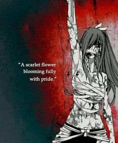 Erza Scarlet - Fairy Tail Inspirational