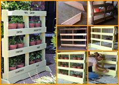 Pas be besoin de vous ruiner en meubles de maison, voici quelques idées géniales à réaliser simplement avec des palettes en bois. Jetez un oeil à ces 60 façons d'améliorer la conception de votre maison.  Source :un jour de reve