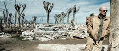 El Indio Solari en las ruinas de Epecuén - Revista El Federal