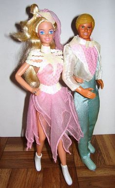 Barbie & Ken Ice Capades 1989- I still have this barbie somewhere!