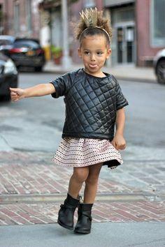 #kids #streetstyle #minifashion #fashionchick