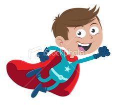 Super boy Royalty Free Stock Vector Art Illustration