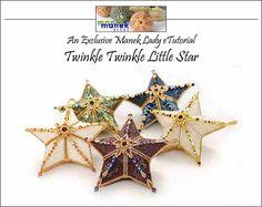 Beautiful Holiday Stars  eTUTORIAL Twinkle Twinkle Little Star by maneklady on Etsy, $30.00