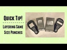 Quick Crafting Tip - Layering same size punches. Stampin' Up!, card, paper, scrapbook, craft, rubber, stamps, Curly Label, Artisan Label, Decorative Label, Modern Label, www.lisasstampstudio.com