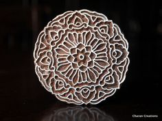 Indian Wood Block Stamp Tjaps Hand Carved stamp by charancreations Ancient Indian Art, Clay Stamps, Textiles, Wood Stamp, Art N Craft, Tampons, Handmade Soaps, Wood Blocks, Hand Carved