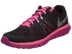 Nike Flex 2014 Rn Msl Womens 642780-016 Black Pink Running Shoes Wmns Size 6.5