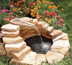 The summertime is already here. All that we want to do in summer is to to take little bit rest, go to beach or relax outside in your garden. Anyway for all those who want to bring changes to the home and garden we have below 16 impressive DIY projects that are decorative and that will makes you happy if you do it. Bring water features in your home and garden and enjoy! Simple indoor water feature via instructables.com DIY BACKYARD POND & LANDSCAPE WATER FEATURE via ohmy-creative.com Spiral…