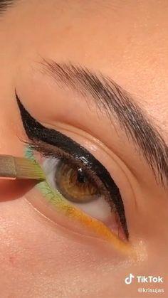 Makeup Eye Looks, Eye Makeup Steps, Eye Makeup Art, Cute Makeup, Eyeshadow Looks, Pretty Makeup, Skin Makeup, Makeup Inspo, Eyeshadow Makeup