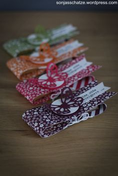 Eine süße Kleinigkeit… Stampin Up, Goodies, Blog, Gift Wrapping, Gifts, Paper, Chocolate Candy Bars, Boxing, Packaging