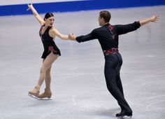 Haven Denney and Brandon Frazier of the United States compete  pair short program 2013 NHK Trophy,Pairs costume inspiration for Sk8 Gr8 Designs