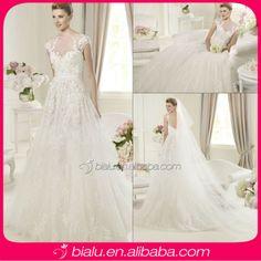 the model wedding dress
