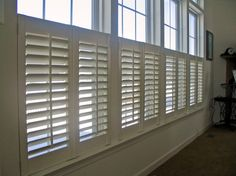 Cafe Shutters can offer the perfect combination of street privacy and view.
