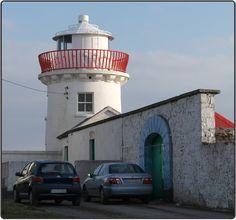 Kilcredan #Lighthouse, Co. Clare aka Kilcredaun Lighthouse - #Ireland    http://www.roanokemyhomesweethome.com