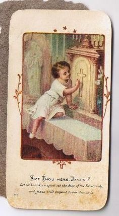 Vintage Holy Cards Prayer Cards Saint Cecelia by TheIDconnection, $15.00