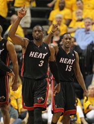 Round 2 - 2 seed #Miami Heat over 3 seed #Indiana Pacers (Series 4-2)