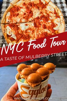 A Walking NYC Food Tour of Mulberry Street - Pint Size Gourmets